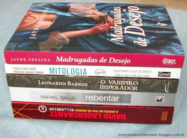 Caixa de Correio, livros, setembro