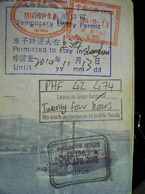 24 Hour British Transit Visa