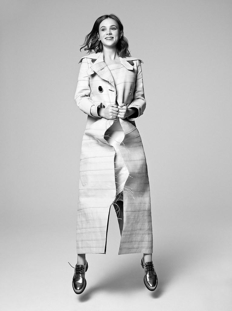 Кэри Маллиган — Фотосессия для «Elle» UK 2015 – 6