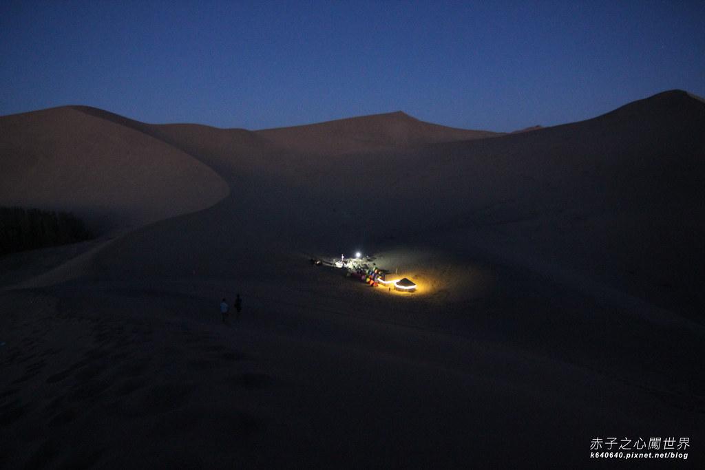 絲路-敦煌鳴沙山月牙泉-沙漠露營25