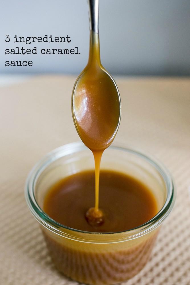 3 Ingredient Salted Caramel Sauce