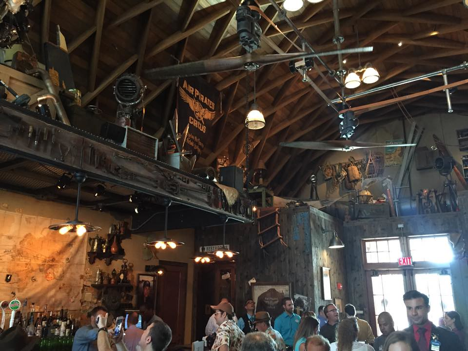 Jock Lindsey's Hangar Bar at Walt Disney World