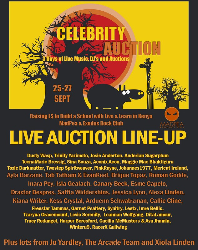 Auction Line UP PNG