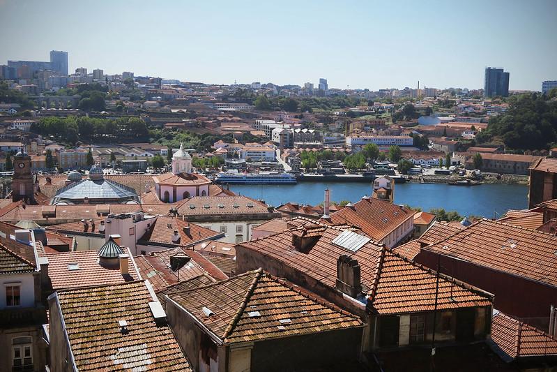 View over Porto