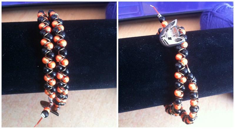 colette horsburgh halloween wrap bracelet