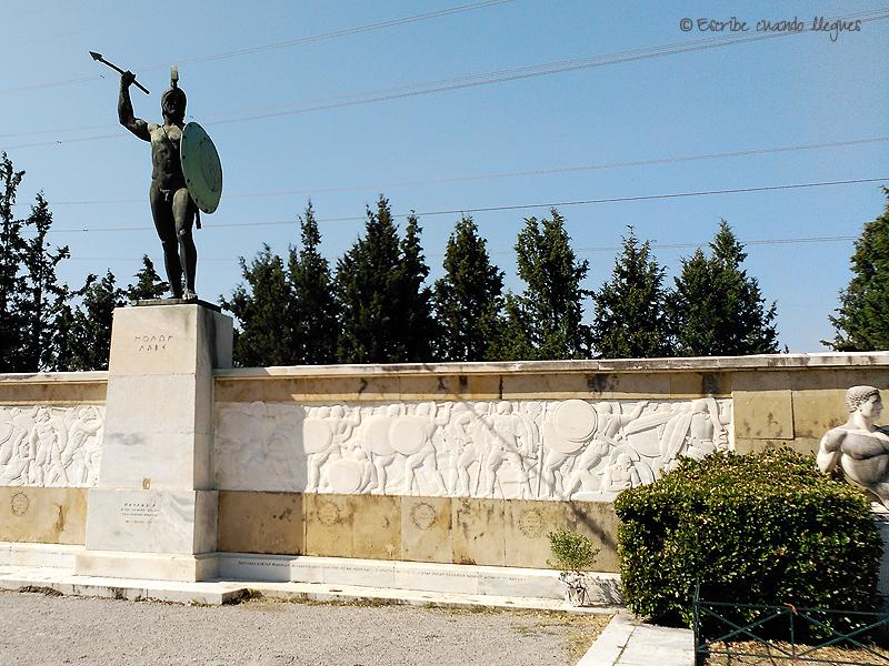 Monumento conmemorativo de la Batalla de las Termópilas