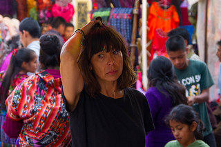 Au marché de Chichicastenango, Guatemala