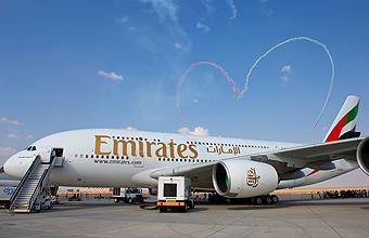 Emirates A380 Dubai Air Show (Airbus)