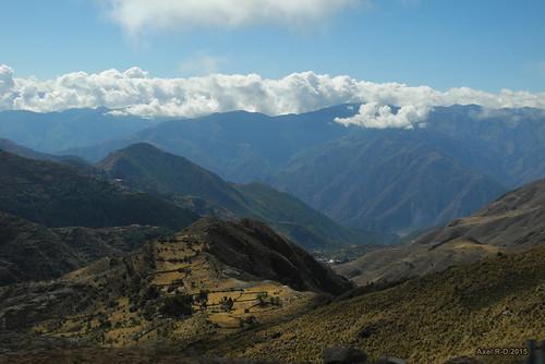 perú nuages montagnes