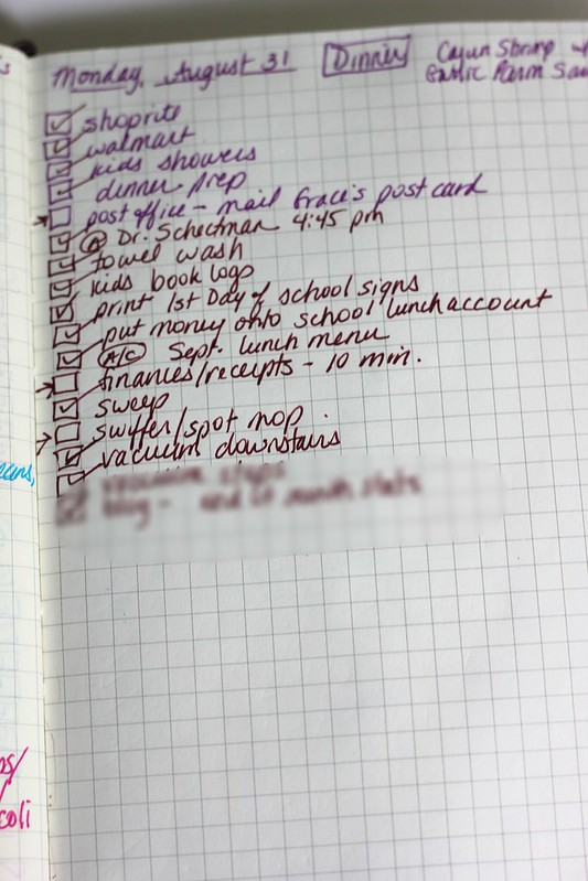 Bullet Journal To-Do List