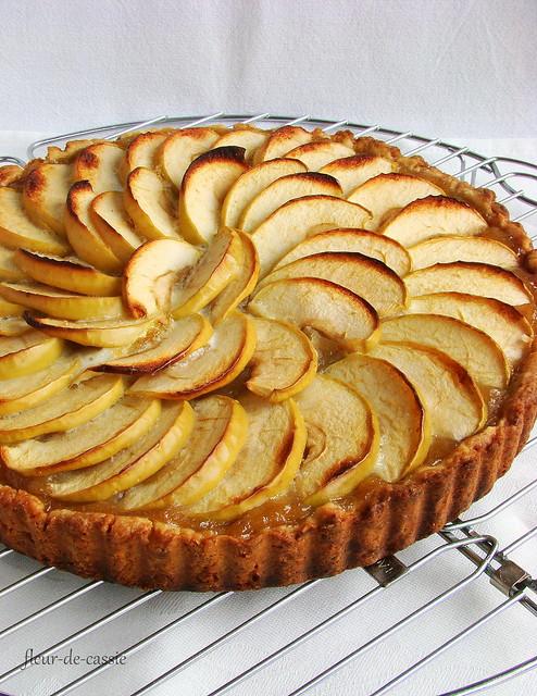 нормандский яблочный пирог 1