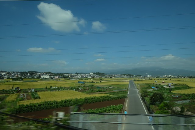 Views from the Shinkansen