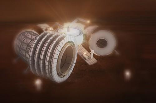 Diseño para un hábitat en Marte