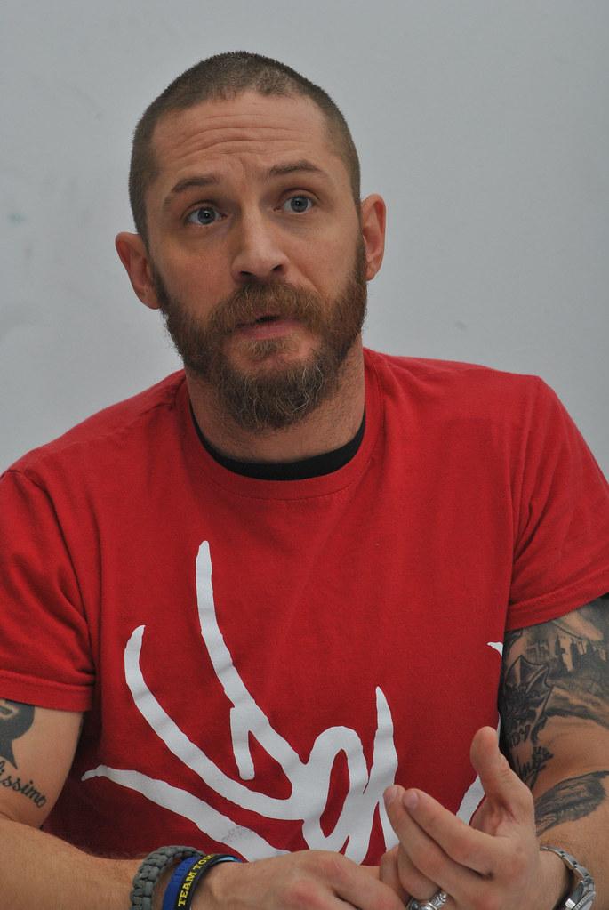 Том Харди — Пресс-конференция «Безумный Макс» 2015 – 37