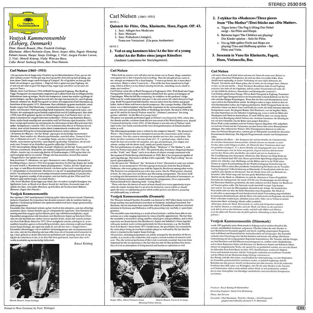 Carl Nielsen - Wind Quintet b