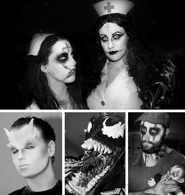 Sinister Creature Con: Horror Character Costumes, Photos by Shaireproductions