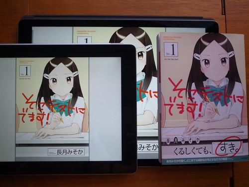 Digital book on iPad Pro