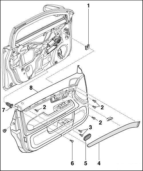 75237 - Instalacja modułu pamięci ustawień fotela kierowcy i lusterek - 3