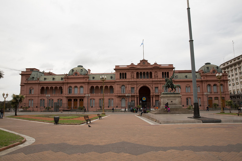 "La Casa Rosada (""The Pink House"") in Buenos Aires"