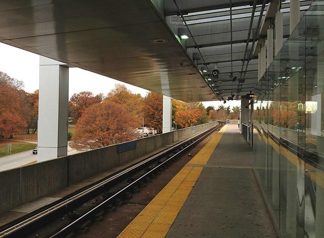 Reisterstown Rd Metro Station ~ HWW!