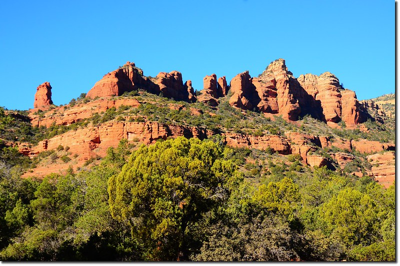 The Red Rocks are taken from the Boynton Pass Road 3