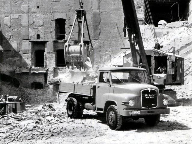 Грузовик MAN 418. 1955 – 1970 годы