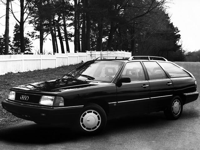 Универсал Audi 5000S Wagon. 1986 – 1988 годы