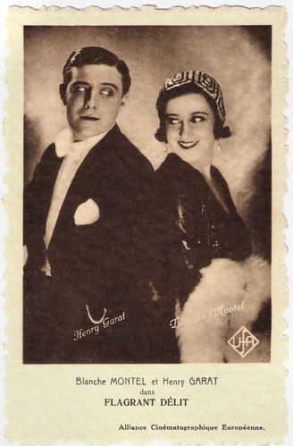 Blanche Montel and Henry Garat in Flagrant Délit (1931)