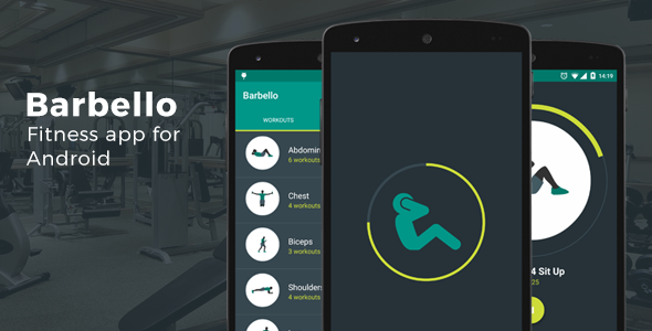 CodeCanyon Barbello v2.0 - Fitness App for Android