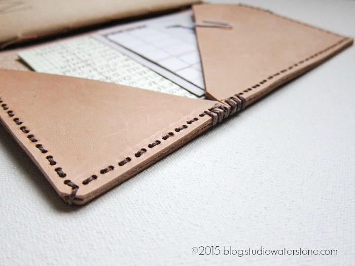 DIY: Leather Planner