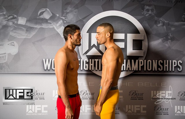 WFC 45 Weigh-Ins December 11th,2015 at the Belle Of Baton Rouge