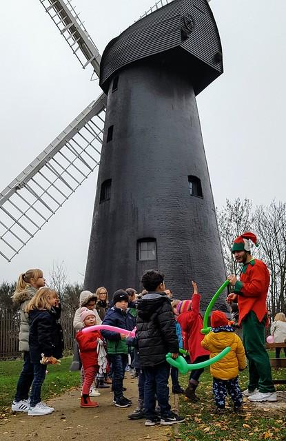 Santa at Brixton Windmill 2016