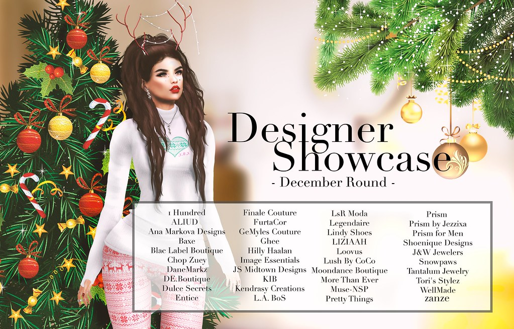 Designer Showcase - December 2016 - SecondLifeHub.com