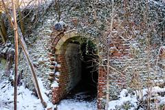 Entrance to the old brick kiln