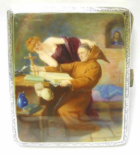最頹廢的藝術品 20世紀初期煙盒,上流人士手中的情色秘密16