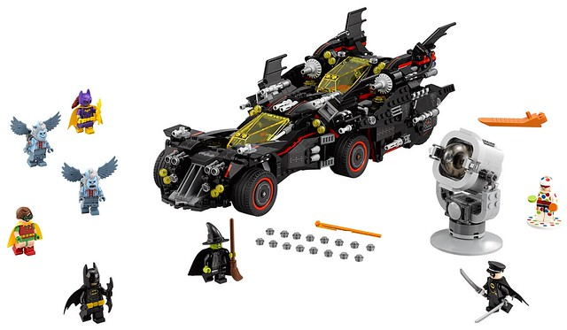 超強四合一登場!!LEGO® 70917【終極蝙蝠車】The Ultimate Batmobile