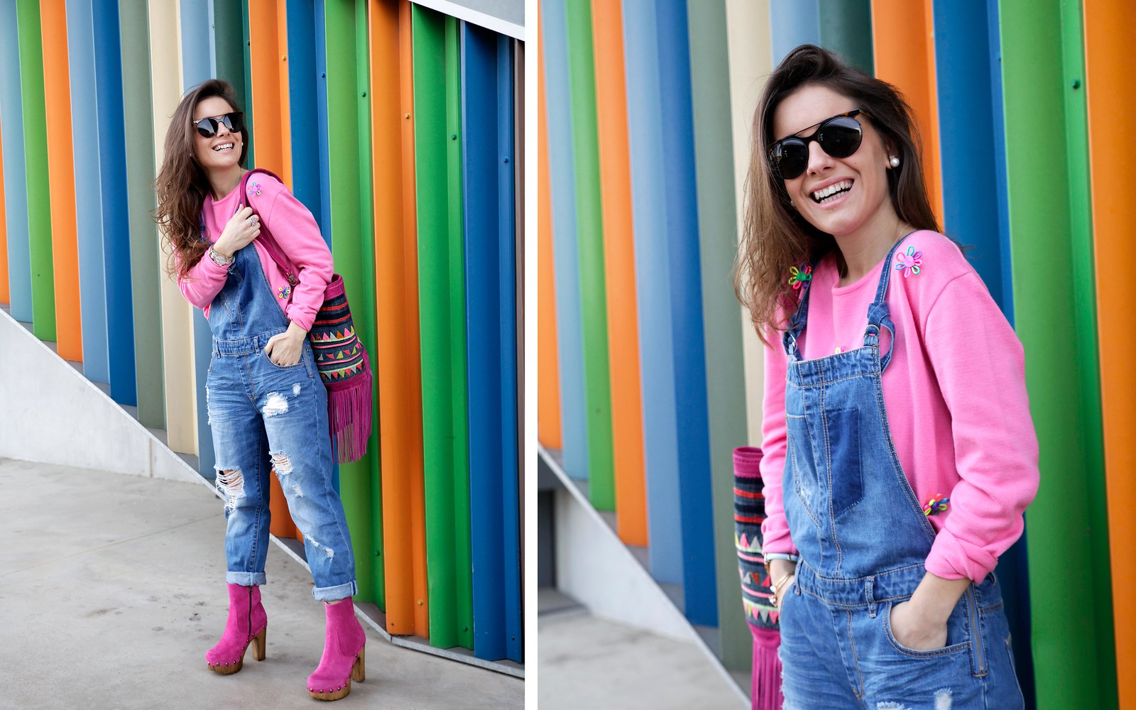 OVERALL OUTFIT FOR SPRING theguestgirl influencer barcelona