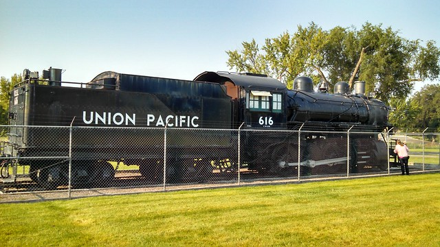 OSL Locomotive on Display in Nampa