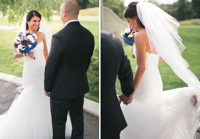 bribe and groom 1st look