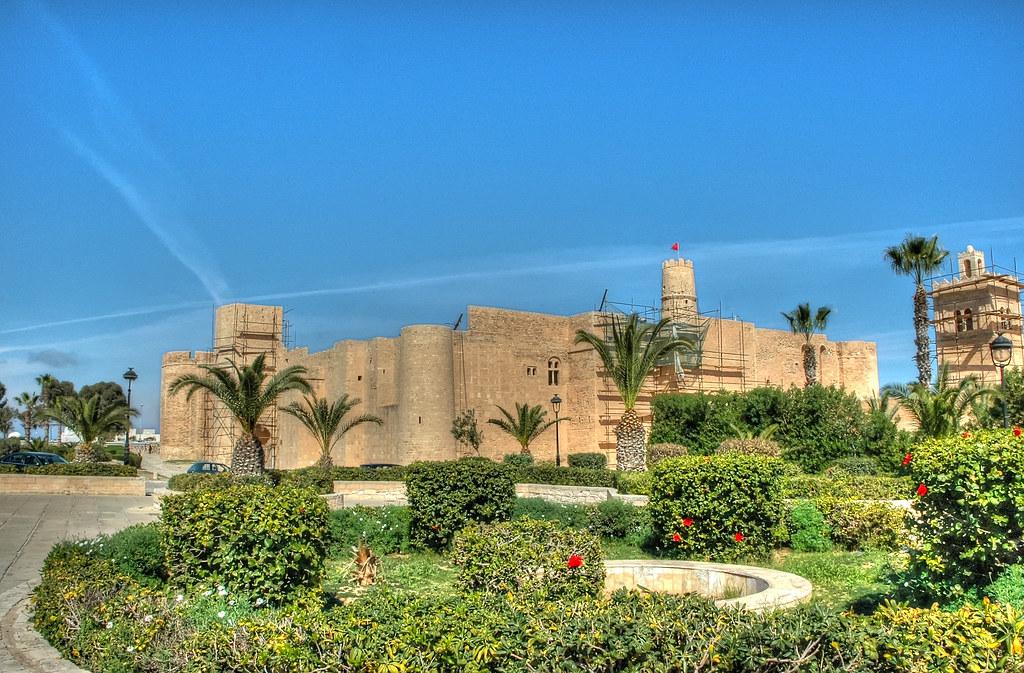 Le Ribat in Monastir, Tunisia