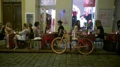 Zagreb night life.