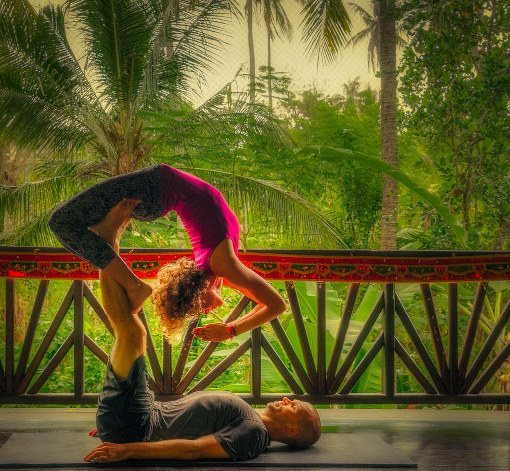 Flexibility in Bali, Indonesia