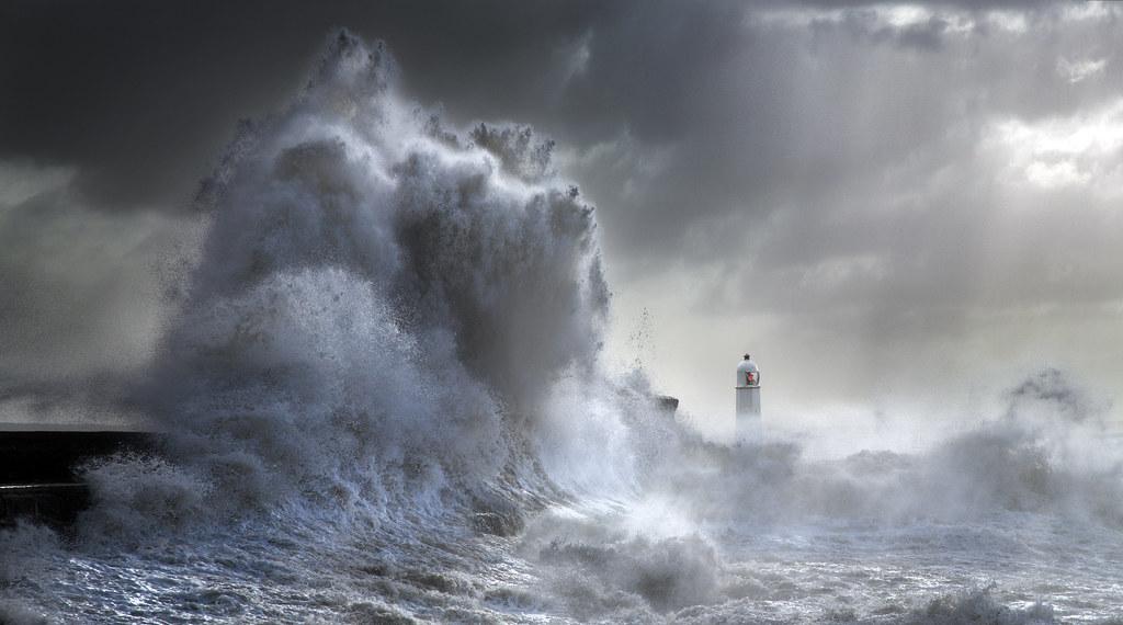 Stormy Porthcawl
