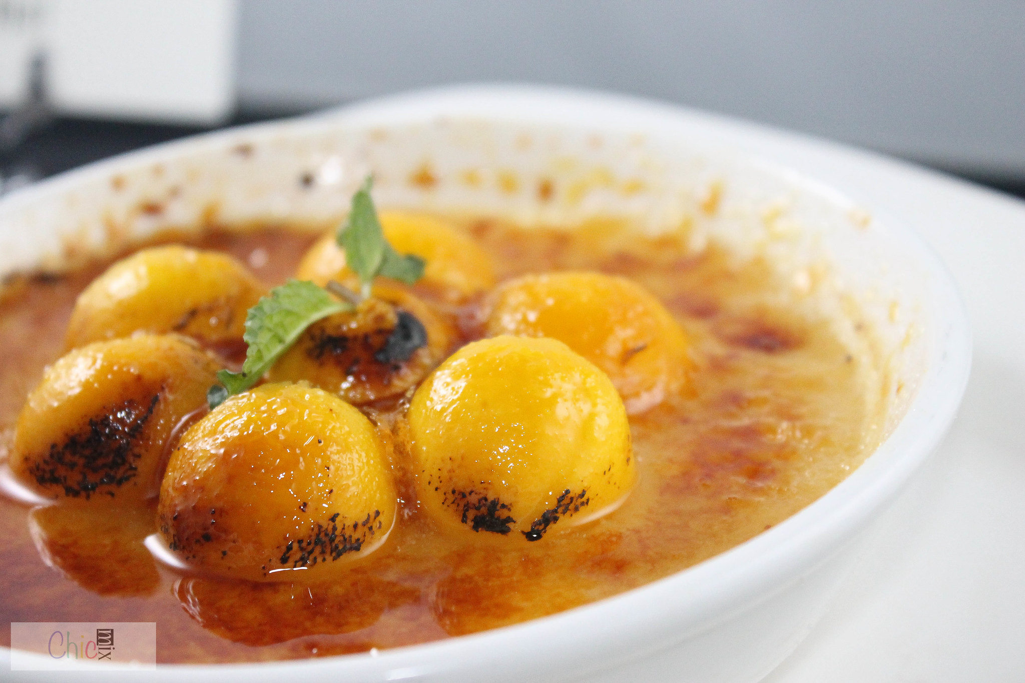 the nest alabang mango creme brulee