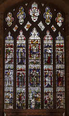 North Luffenham, St John the Baptist, East window