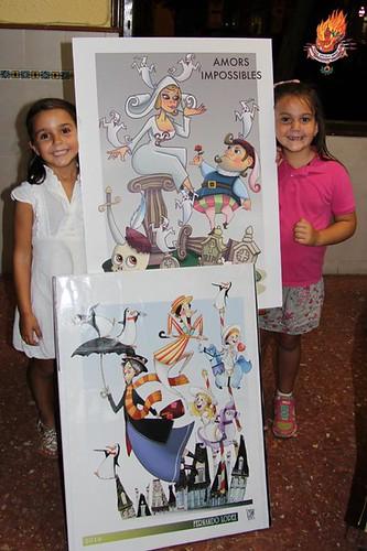 Presentación de Bocetos Fallas 2016