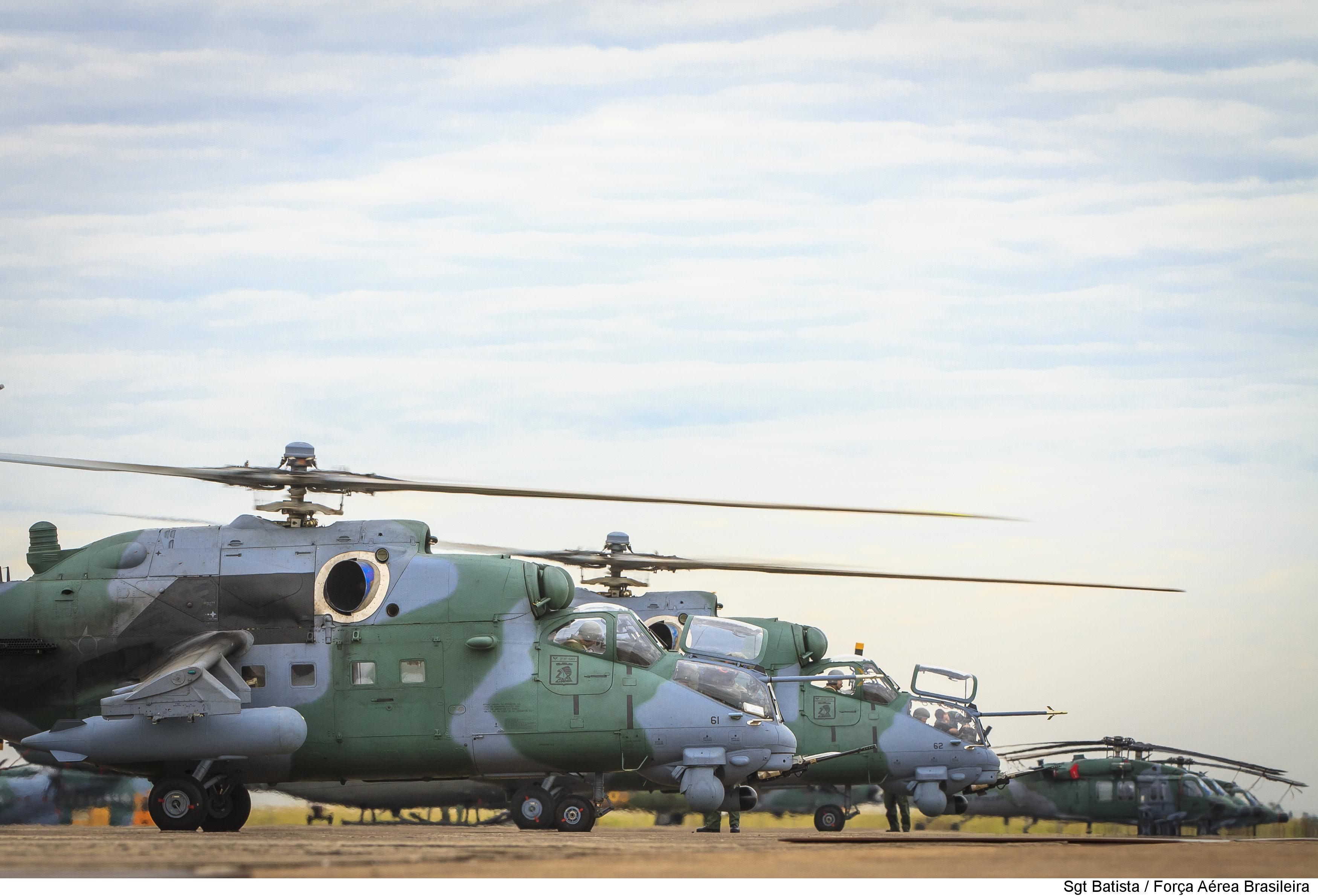 Brazilian Air Force AH-2 Sabre and H-60 Blackhawk