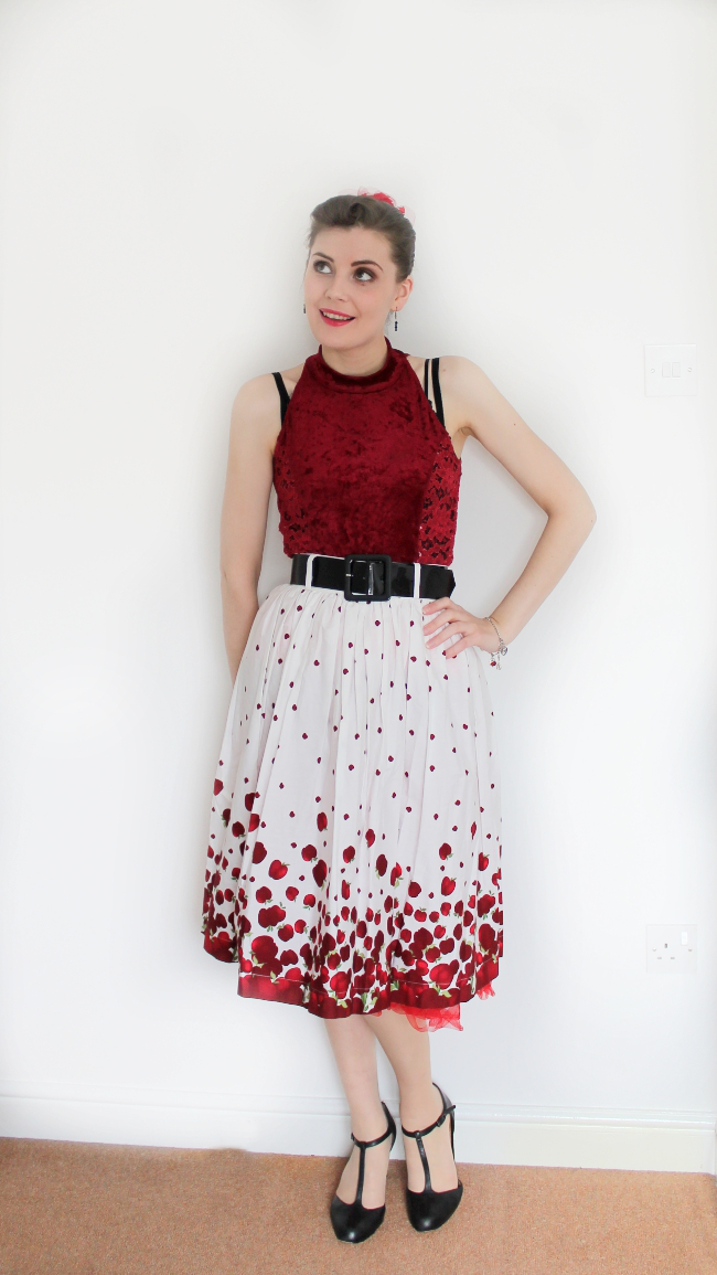 vintage 1950s outfit