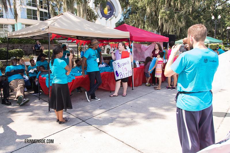 ImprovingBirth.org rally 2015 - Orlando, FL Lake Eola