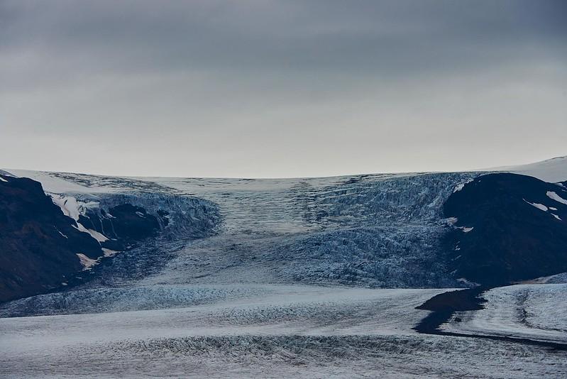 Top of the Skaftafelljökul glacier - Skaftafell